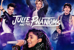 Джули и призраки 2 сезон постер