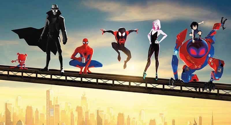 дата выхода мультфильма человек паук 2